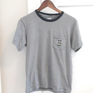 Uniqlo Embroidered Mickey Mouse T-Shirt